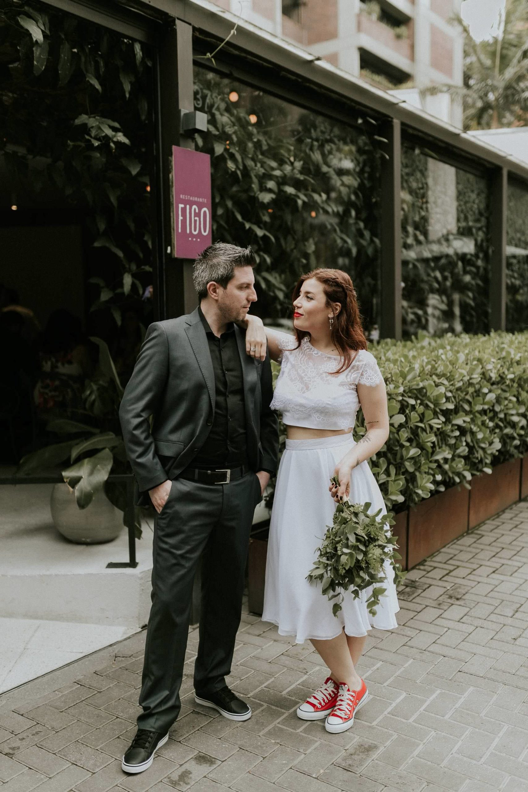 Mini-wedding urbano | Fotografia Minimalista | Karine Britto